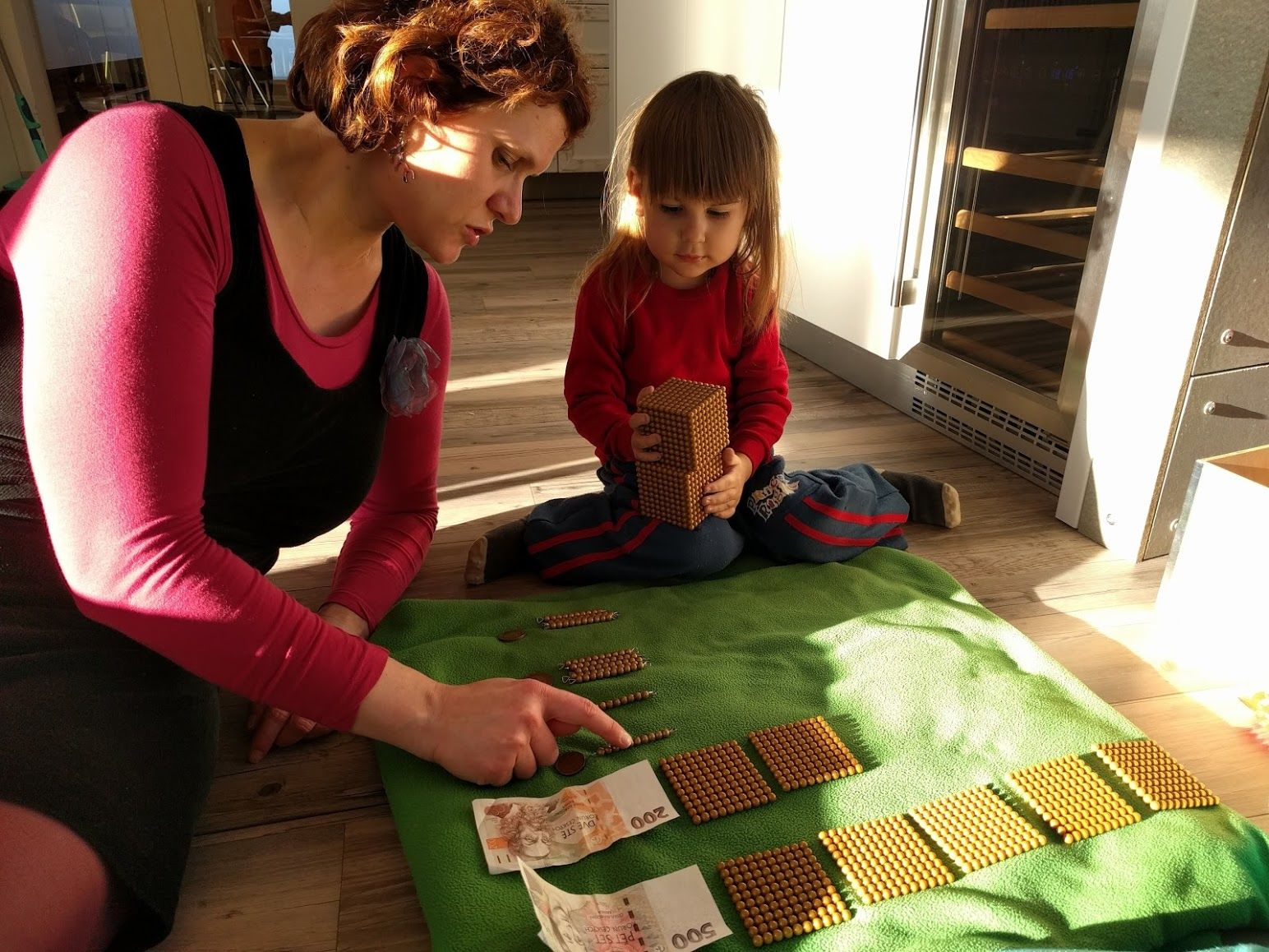 Montessori banka - matematika