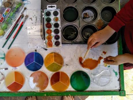 Míchání barev