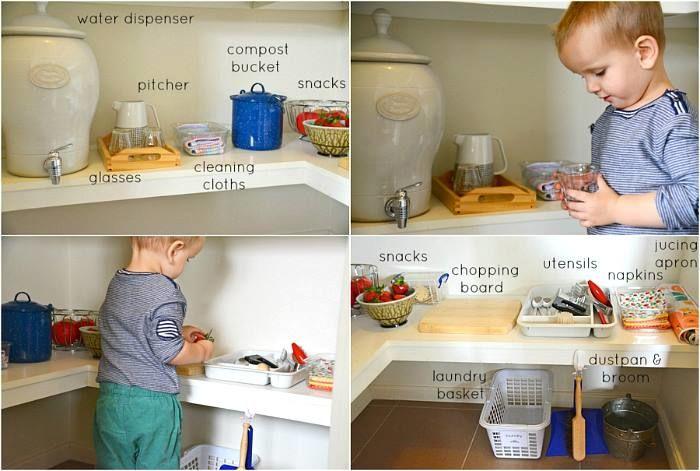 spíž pro děti - montessori vkuchyni