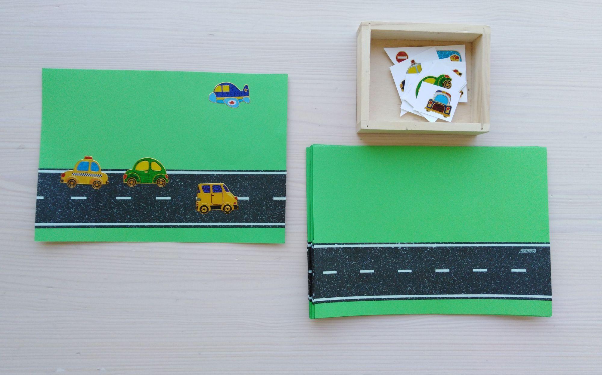 Lepící páska - silnice - asampolepky