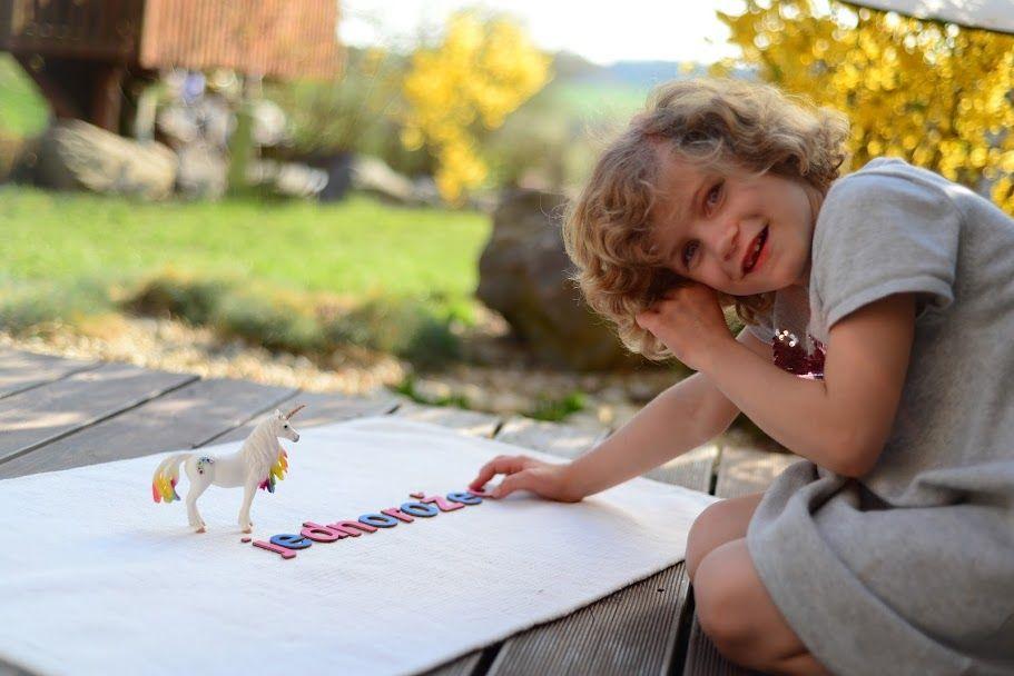 začátky psaní - montessori písmena